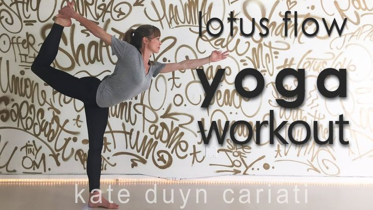 Lotus Flow Yoga Workout with Kate Duyn Cariati