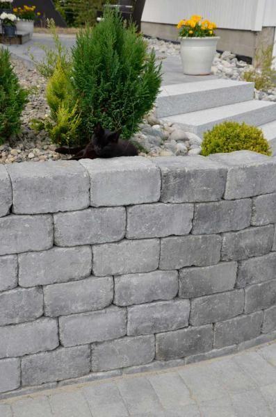 #Herregård Mur, gråmix #ModenaFliser