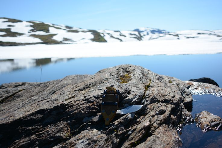 #necknife on the lake Stølsheimen #norway #bladearmour all around the world testing our products