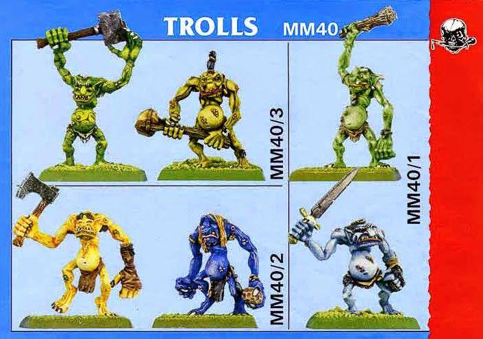Marauder Trolls MM40.