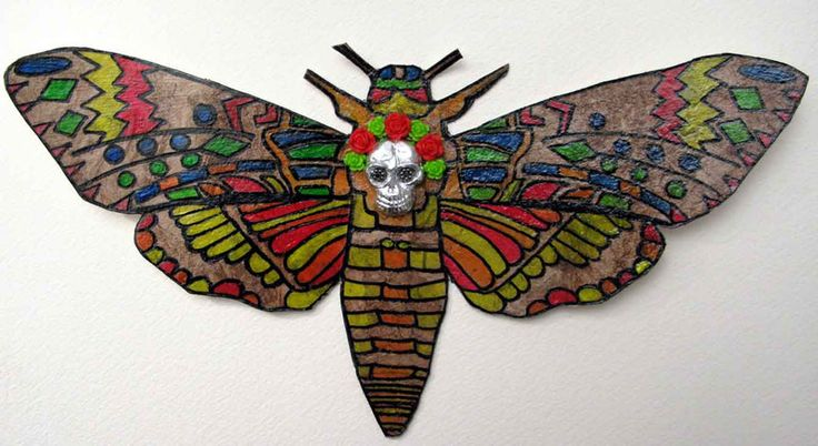 """""""Sphinx mexicain"""" - tableaux, peintures - ftcrea - Fait Maison"""