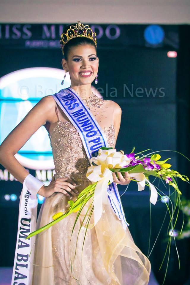 Keysi Vargas - Miss Mundo Puerto Rico 2015