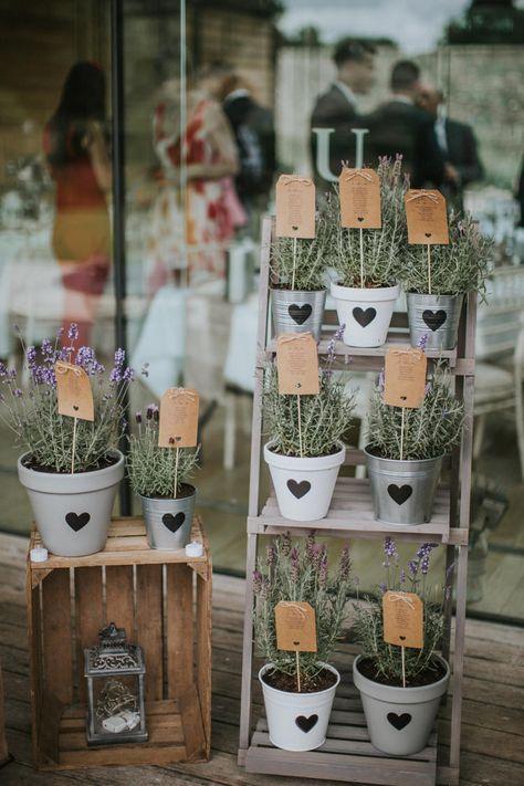 Creative DIY Rustic Lavender Wedding – Hochzeit Id…