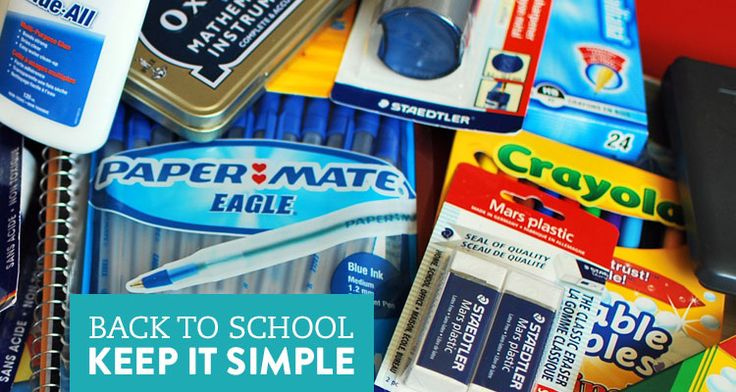 Back to School: Best School Supplies for Middle School Students - K12 - Learning Liftoff - Free Parenting, Education, and Homeschooling Resources