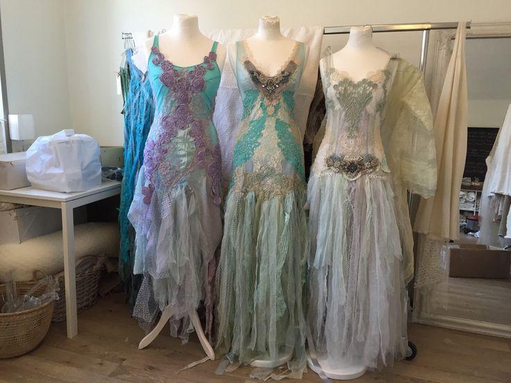 Alternative Wedding Dress Stores : Turqoise fairy dress wedding chic dresses
