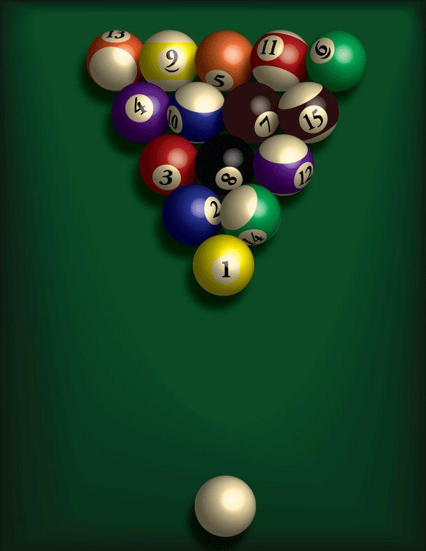 Lesson 10 Pool Balls