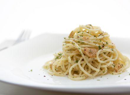 Špageti aglio oglio