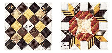 really neat quilt design. wish there were a tutorial!