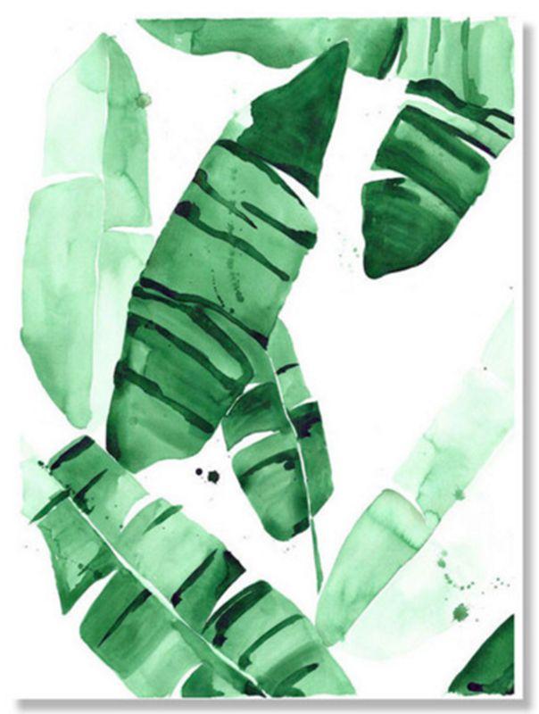 motif de palmier 10 objets d co a peindre pinterest feuille palmier bananier et palmiers. Black Bedroom Furniture Sets. Home Design Ideas