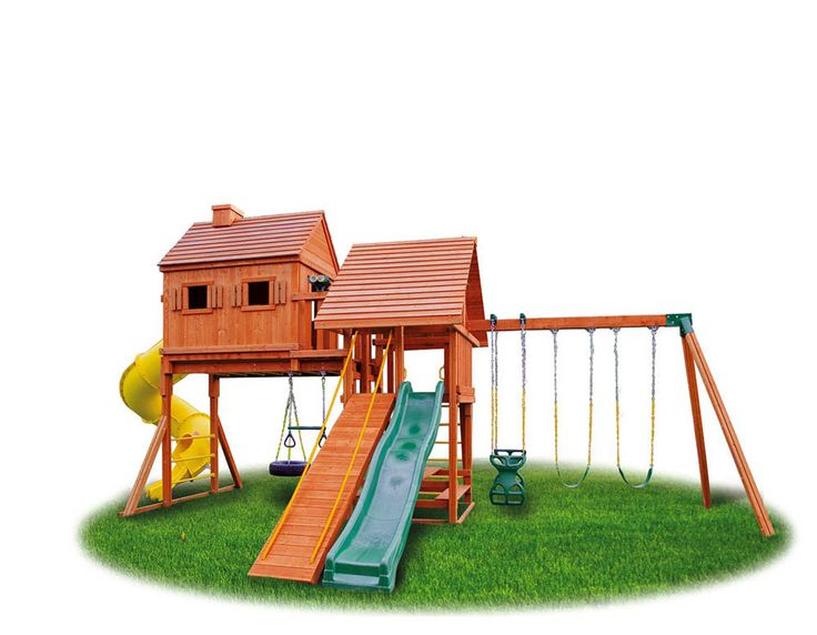 Unique Wooden Gym Sets