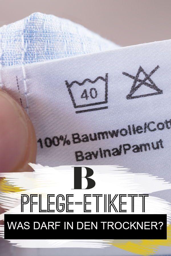 bf438202ca Trocknersymbole: Welches Zeichen steht für trocknergeeignet? Du hast dein  Lieblingsteil frisch gewaschen und fragst
