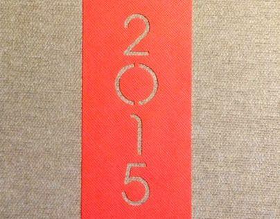 "Check out new work on my @Behance portfolio: ""Agenda 2015"" http://on.be.net/1ijvqyE"