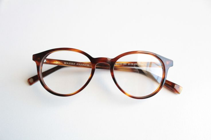 Warby Parker glasses Watts in Soft Maple