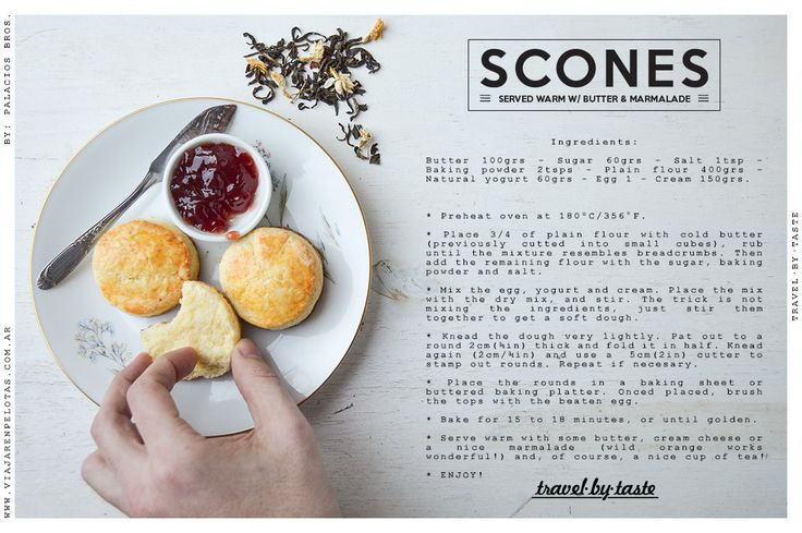 Scones Recipe.. simple & delicious!