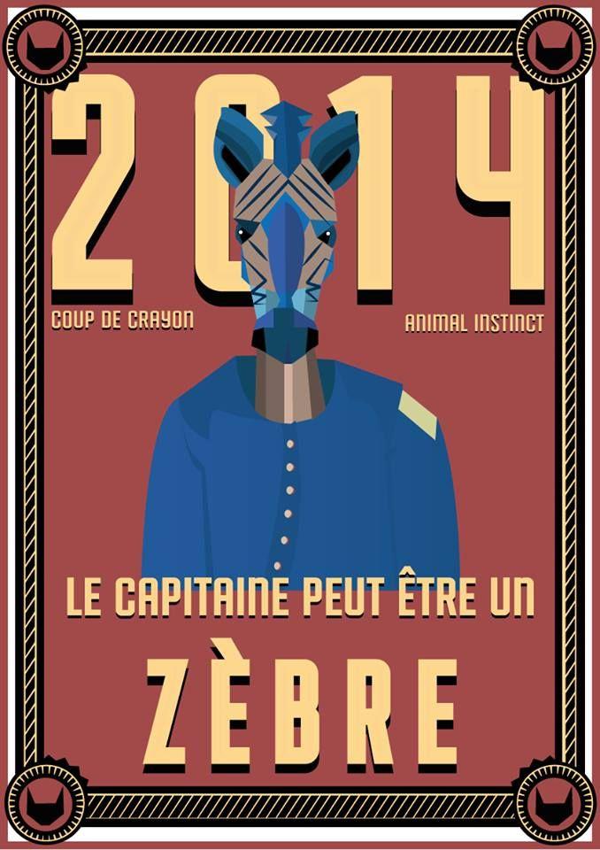 // Le capitaine peut être un Zèbre //  #zèbre #zebra #esprit #animal #espritanimal #animalspirit #spirit #animals #animaux #graphisme #vectoriel