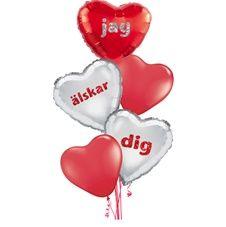Alla Hjärtans dag Ballongbuketter  1
