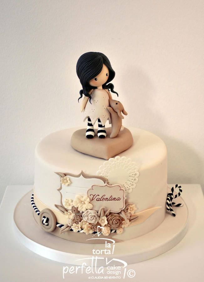 Gorjuss /Santoro's doll cake by La torta perfetta