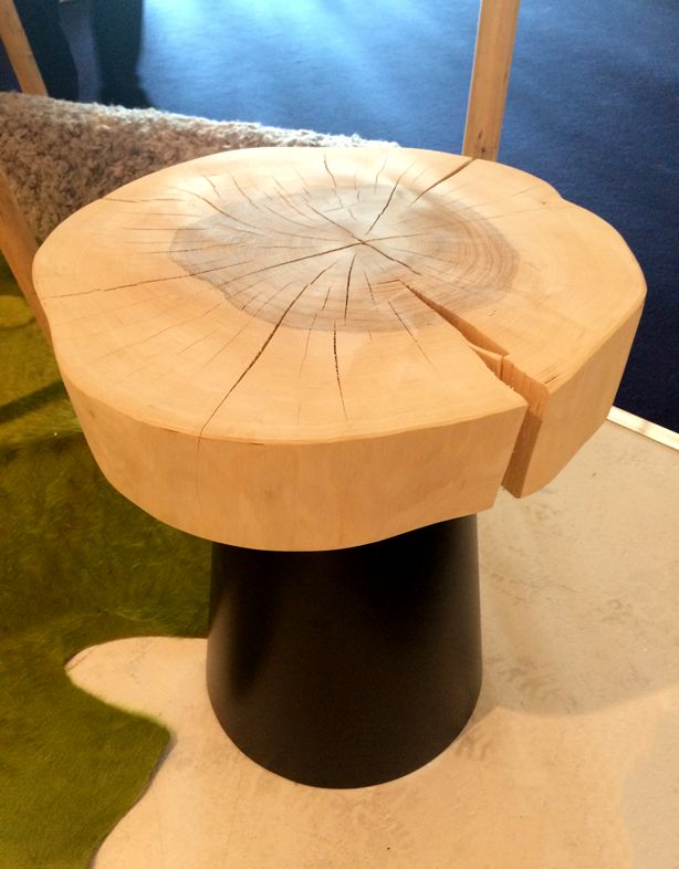 The Log That Is Cut For The Top Of This Table Is So Beautiful. Designed By  German Company Jan Kurtz.