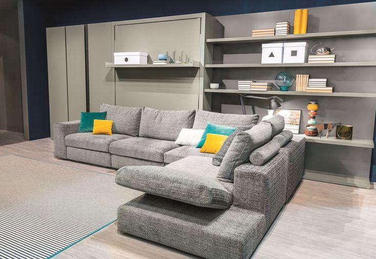 Oltre 25 fantastiche idee su cuscini di seduta su - Copridivano per divano angolare con cuscini fissi ...