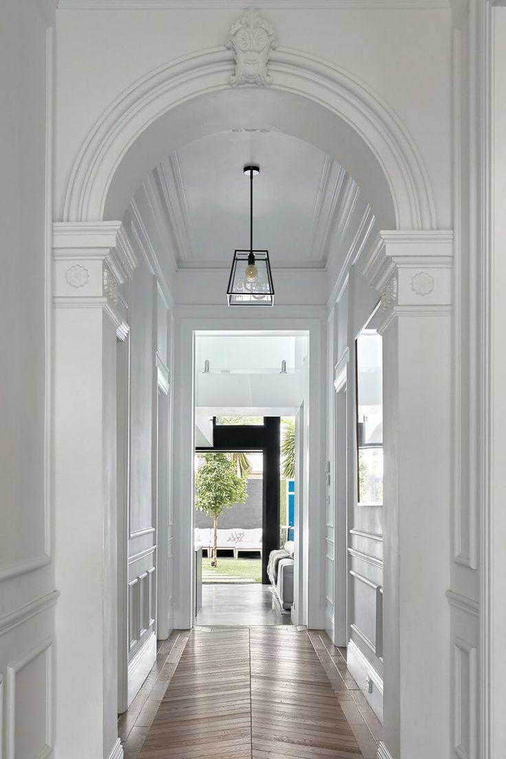 Stunning Sunday Double Fronted Freestanding Victorian Residence In 2020 Victorian Hallway Hallway Lighting Small Hallways