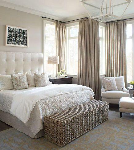 neutral bedroom - Wayne Windham Architects via Atticmag