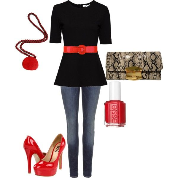 Red, black and snake  Clutch and necklace available at www.piperjordan.com.au