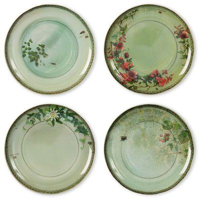 Yuan Plate - set of 4