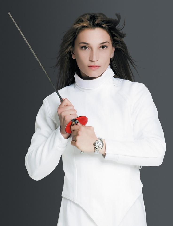 Margherita Granbassi - Italian Fencing