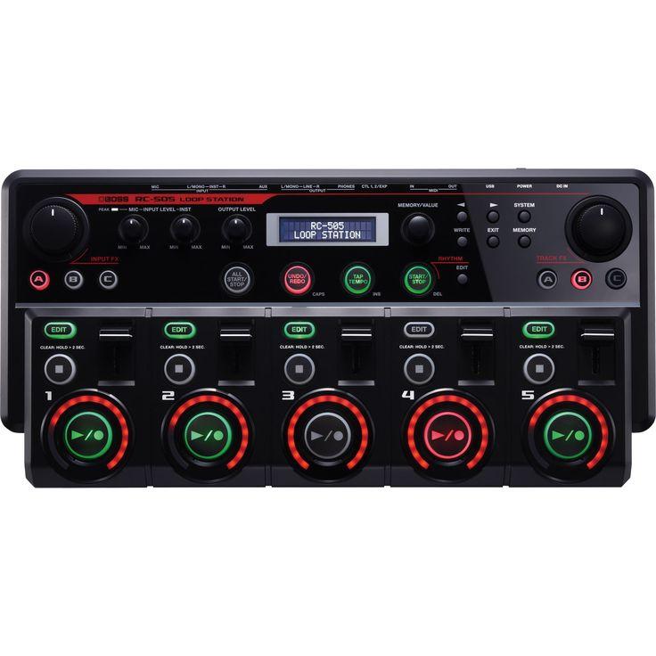 Loopstation per beatboxers, cantanti, club DJ ecc. Per la scheda completa della Loopstation Roland RC 505 clicca qui.