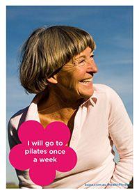 I will go to pilates once a week @BupaAustralia #health #pledge #pilates #getfit