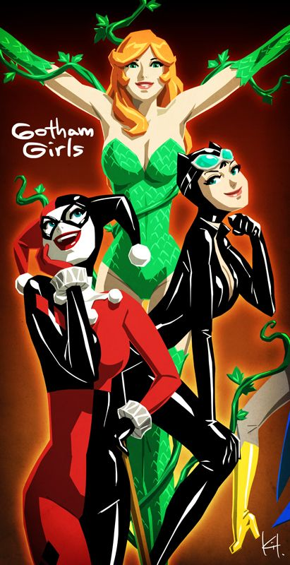 We are Gotham Girls! by kit-kit-kit.deviantart.com on @deviantART