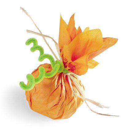 The Candy-Filled Pumpkin