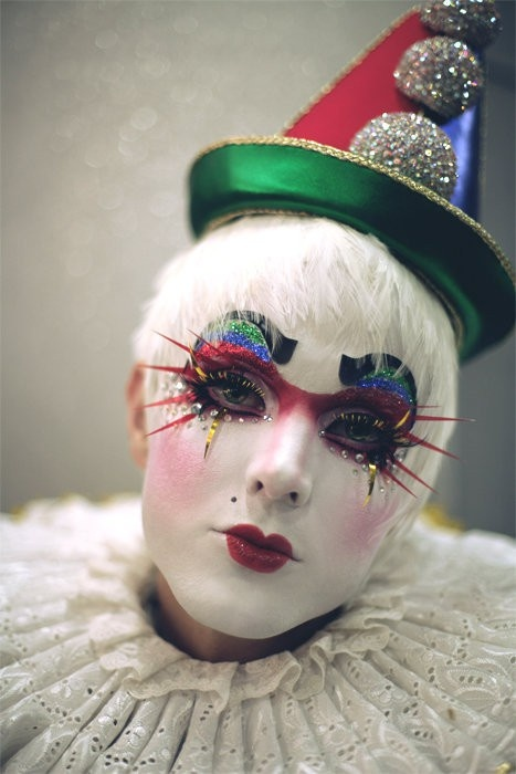 circus makeup #circus #makeup