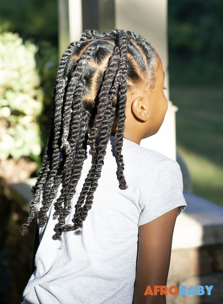 Kids Natural Hair Style Inspiration | 2-strand Twists ...