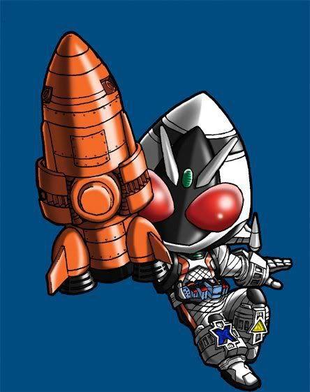 Kamen Rider fourze by takkynoko