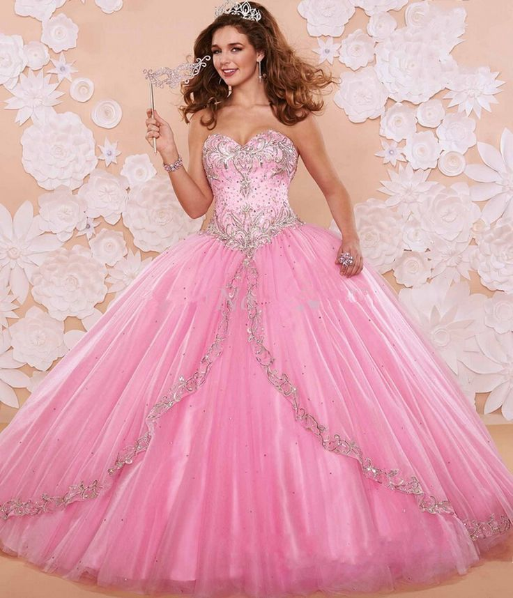 34 best Quinceanera Dresses images on Pinterest | Ball dresses, Prom ...
