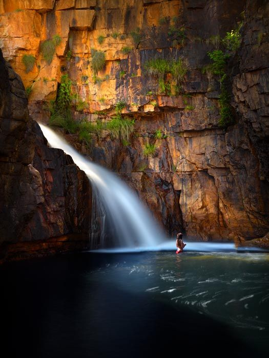 99 best images about pilbara life on pinterest - Crystal pools waterfall ...