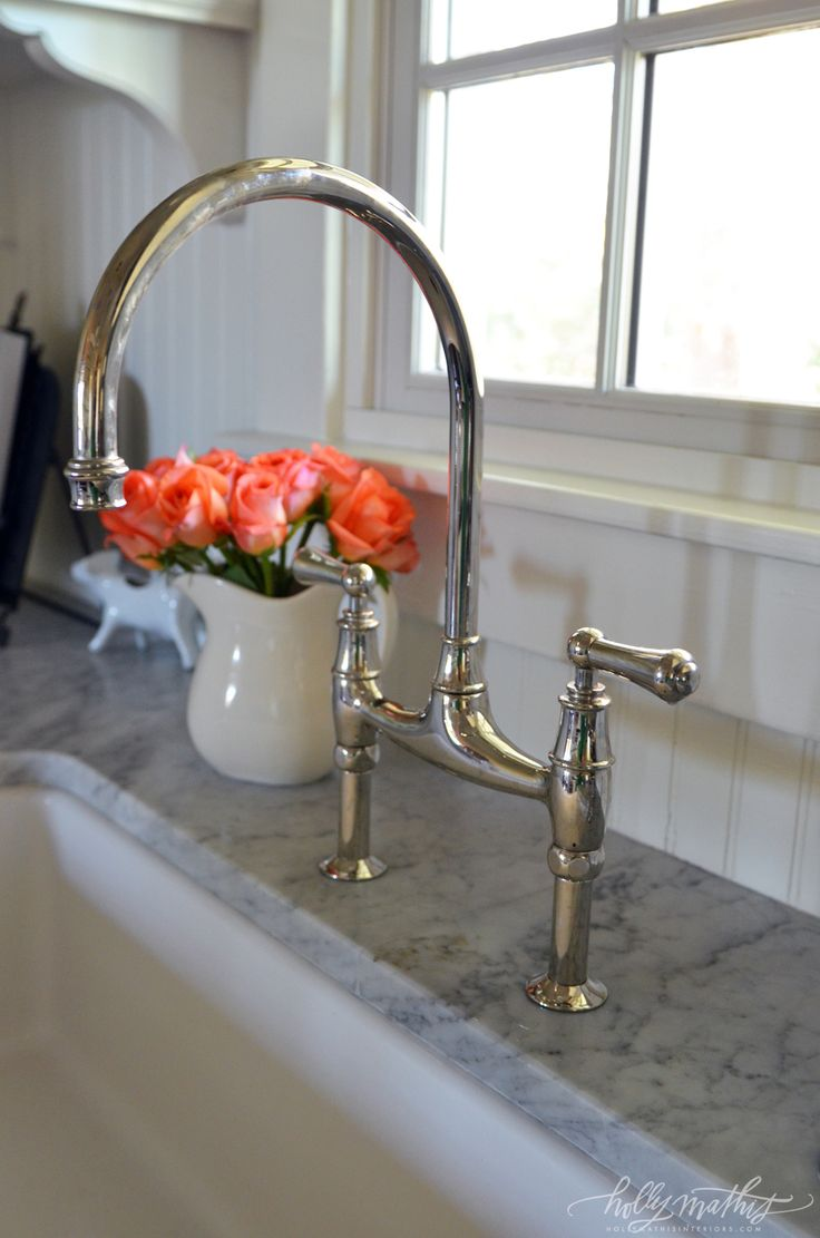 Its Rohl And Yes Itu0027s An Investment But A Bridge Faucet Does Really Look  Great!