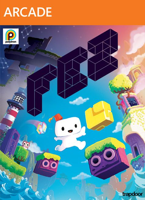 FEZ's cover art, as designed by Bryan Lee O'Malley, creator of Scott Pilgrim.