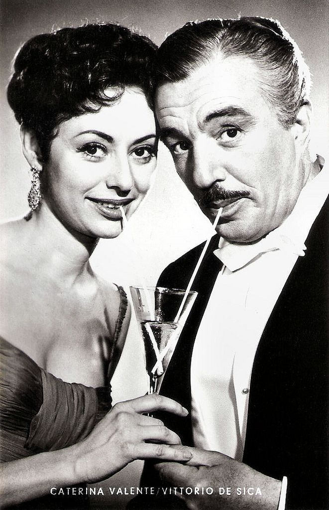 https://flic.kr/p/HWpCHT | Caterina Valente and Vittorio De Sica in Casino de…