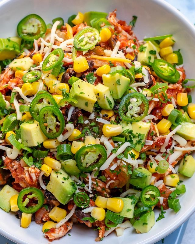 Clean Eating Crockpot Mexican Chicken Bowls for Meal Prep! | Clean Food Crush | …