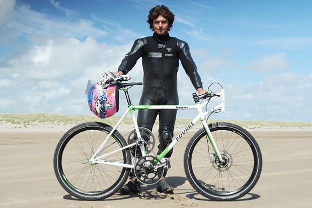 Guy Martin's Rourke Land Speed Bicycle