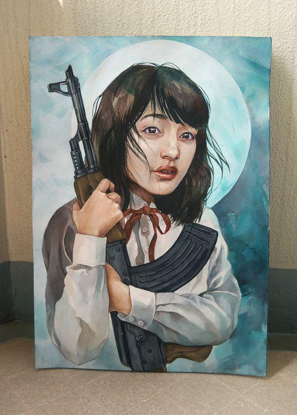 bokkei - she is sooo talented.