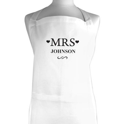 Check this out!! The Kitchen Gift Company have some great deals on Kitchen Gadgets & Gifts Personalised Mrs Apron #kitchengiftco