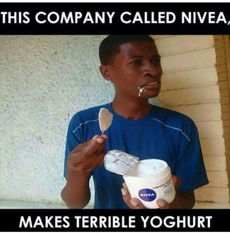 Some meusli and nivea this morning? Tag a friend who would do this  #deurdiekak #breakfast #babelas #shit_sa_say