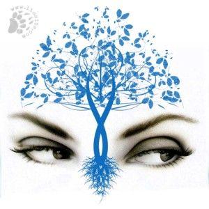 """Joumana Haddad """"Albero azzurro"""" Quando i tuoi occhi incontrano la mia solitudine il silenzio diventa frutto e il sonno tempesta si socchiudono porte proibite e l'acqua impara a soffrire."""
