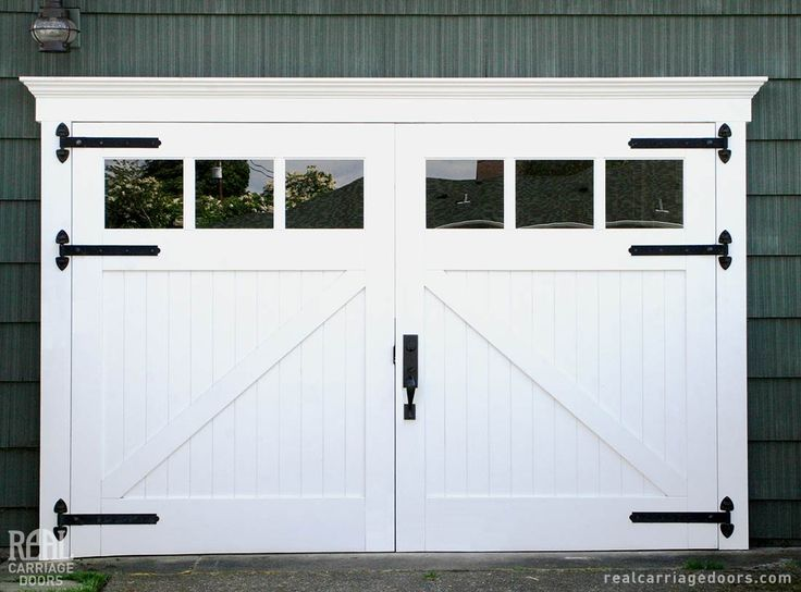 106 best images about carriage doors on pinterest for Real carriage hardware