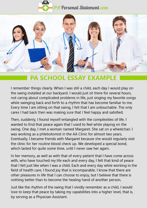 Reflection on work experience essay