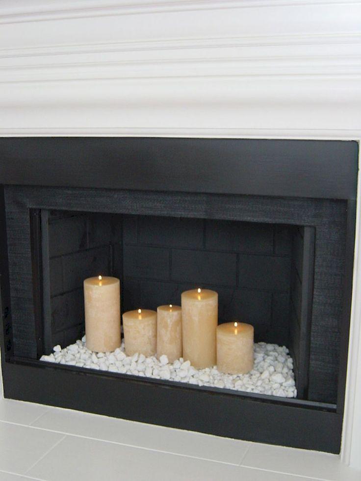 Best 25+ Fireplace decor summer ideas on Pinterest ...