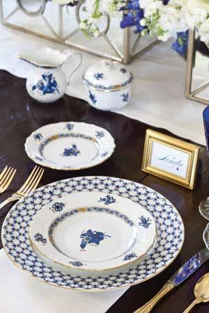 My Favorite Blue and White Tablescapes